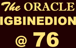 ORACLE Igbinedion @ 76